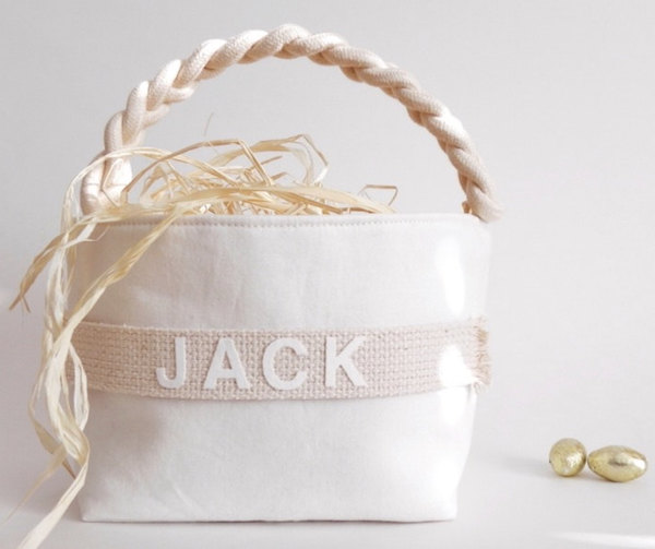 Chic Easter Baskets from Etsy & Pottery Barn Kids