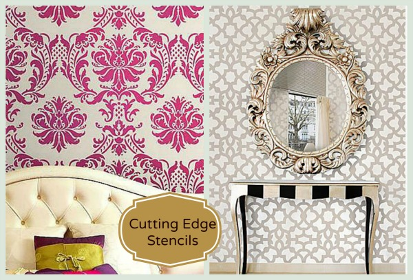 cuttng edge stencils home office renovation part II