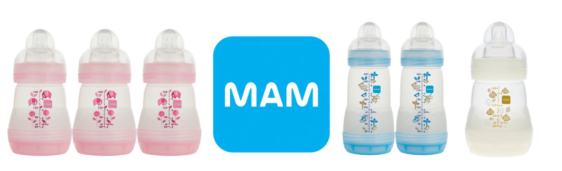 Mam Offers Off Anit Colic Bottles