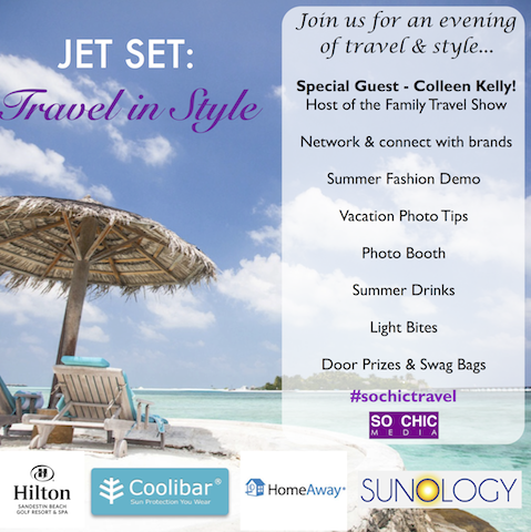jet set: travel in style media event