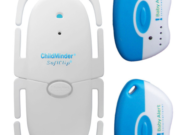 ChildMinder SoftClip lifesaving alert system