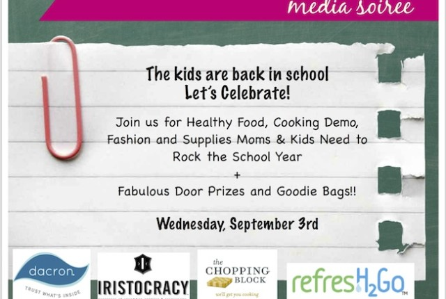 back to school blogger event chicago