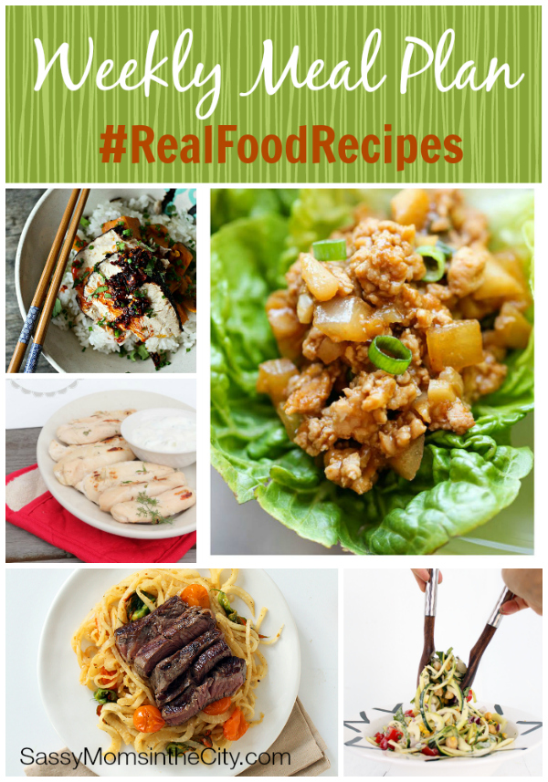weekly meal plan real food recipes with musings of a housewife