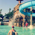 Visiting big kahunas water park