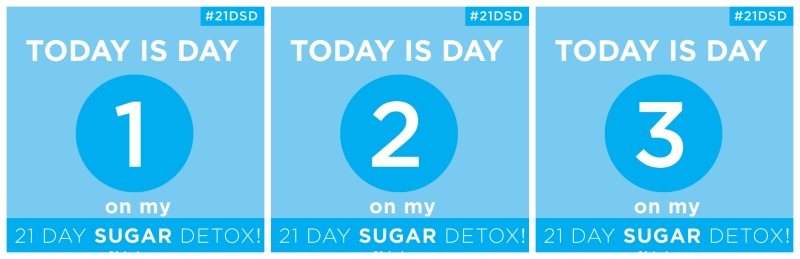 21 sugar detox day 1-3 recap