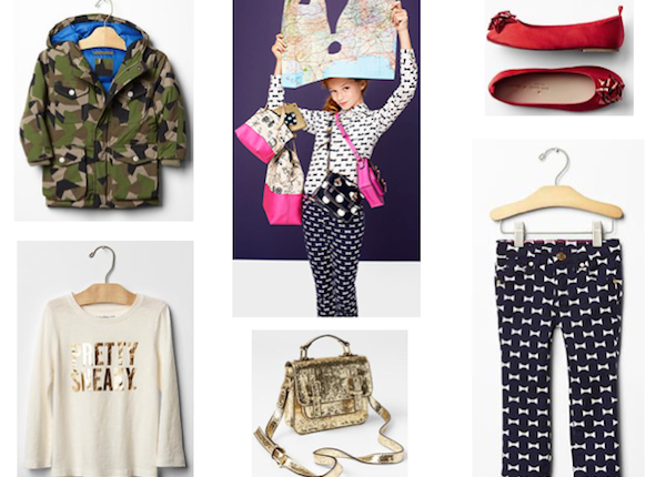 kate spade for GAP Kids