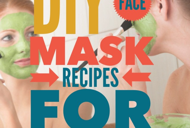 DIY AT Home Face Mask Recipes for the Winter