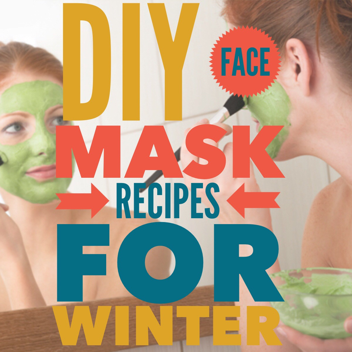 DIY At Home Face Mask Recipes for the Winter #beautybuzz