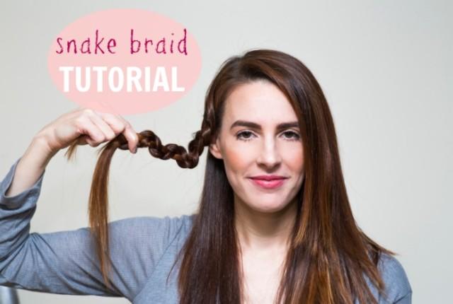 SNAKE BRAID tutorial