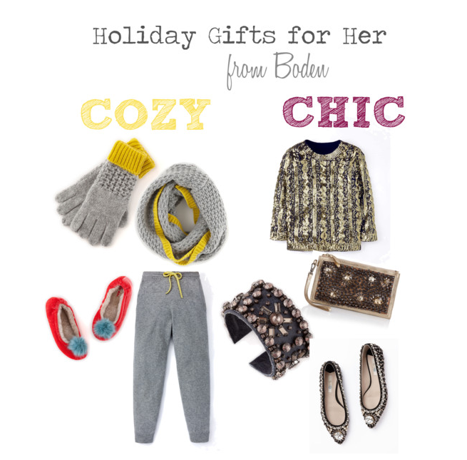 Holiday Gifts from Boden