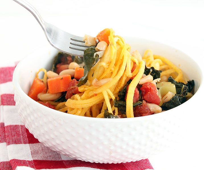 real food recipe round up + weekly meal plan featuring Vegetable Stew with Rutabaga Noodles