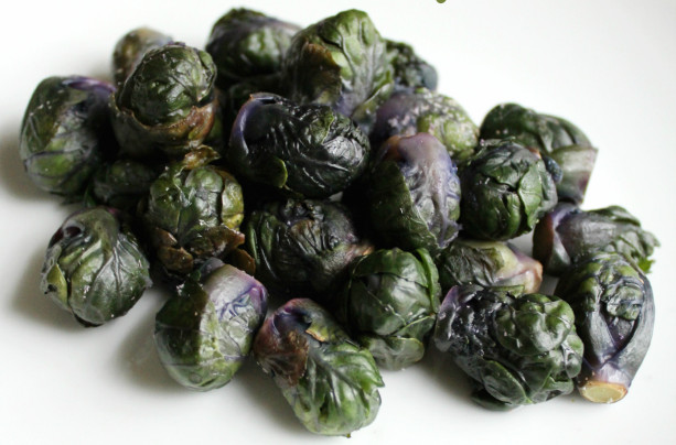 Weekly Meal Plan featuring Purple Brussel Sprouts