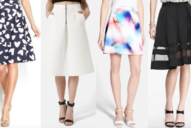 spring skirts fashion friday