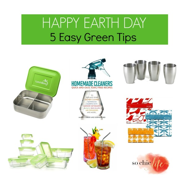 5 Easy Green Tips for Earth Day