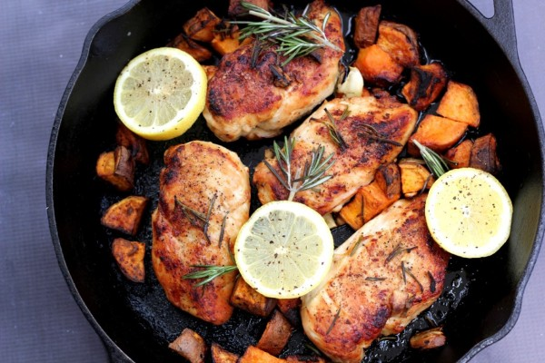 Weekly Meal Plan Featuring Lemon Rosemary Chicken