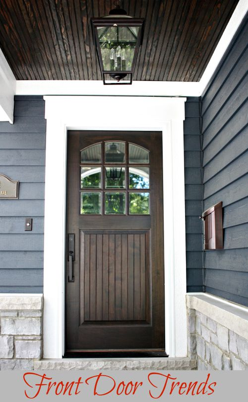Front Door Trends So Chic Life