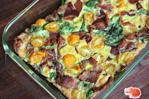 bacon tomato quiche 21 day sugar detox