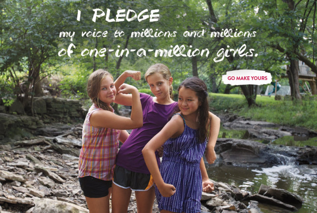 American Girl Pledge