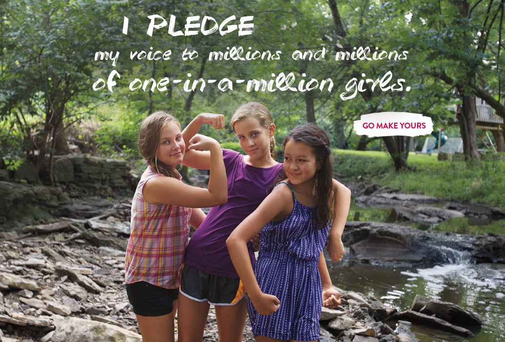 American Girl Pledge #AGforAllGirls