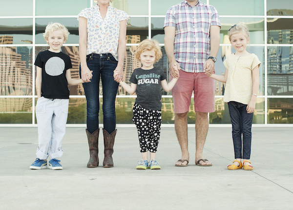 Sarah Davis Co-Founder Citizens Small Children's Clothing Line Made in USA