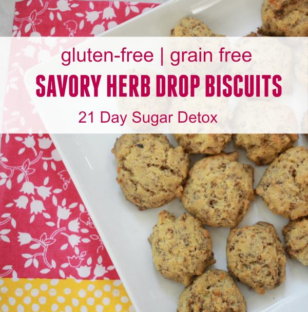 Gluten-Free Savory Herb Drop Biscuits