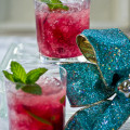 Unique Holiday Cocktails Wild Hibiscus Mojito