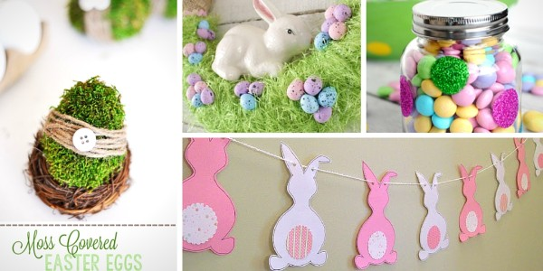 33 Pretty DIY Easter Decoration Ideas