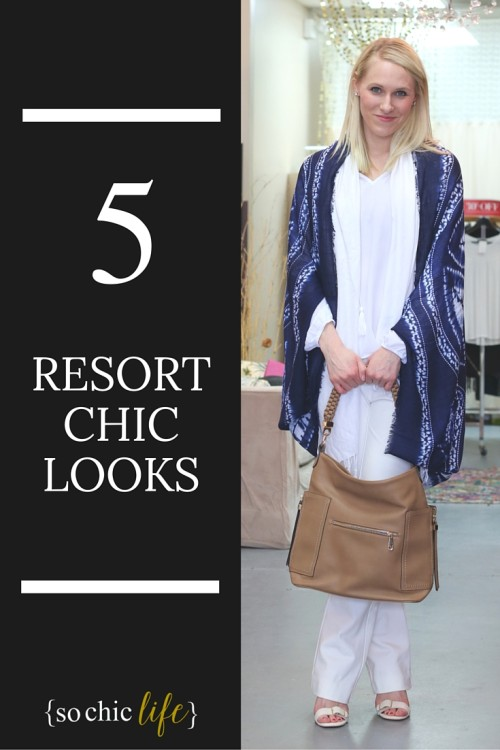 Resort Chic: 5 Looks to Rock Your Next Vacation