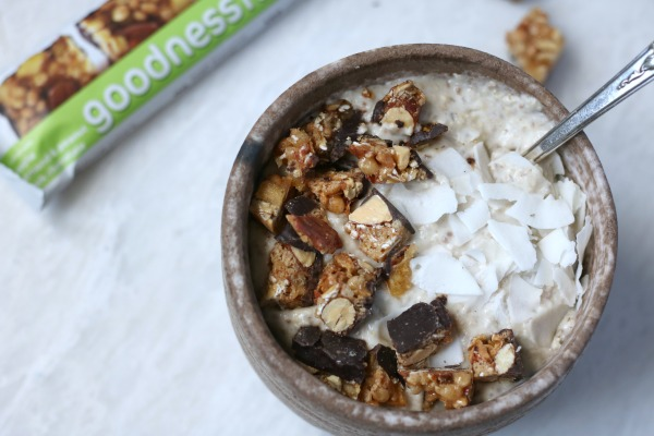 Oatmeal Banana Smoothie Bowl