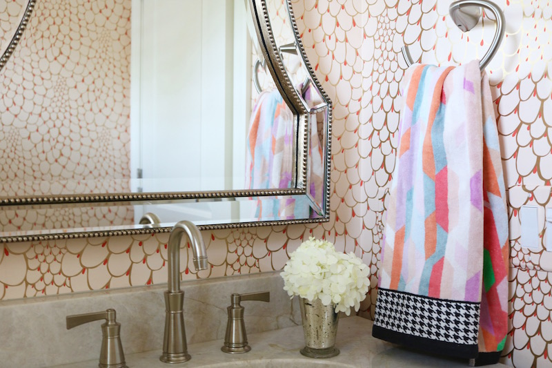 Powder Room Reveal: Relativity Textiles Wallpaper