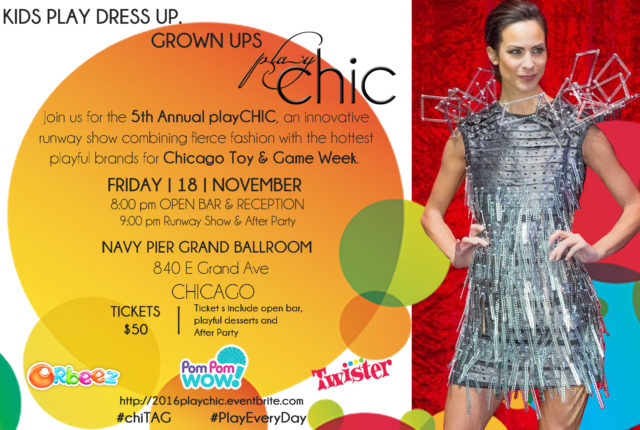 PlayCHIC Fashion Show Navy Pier