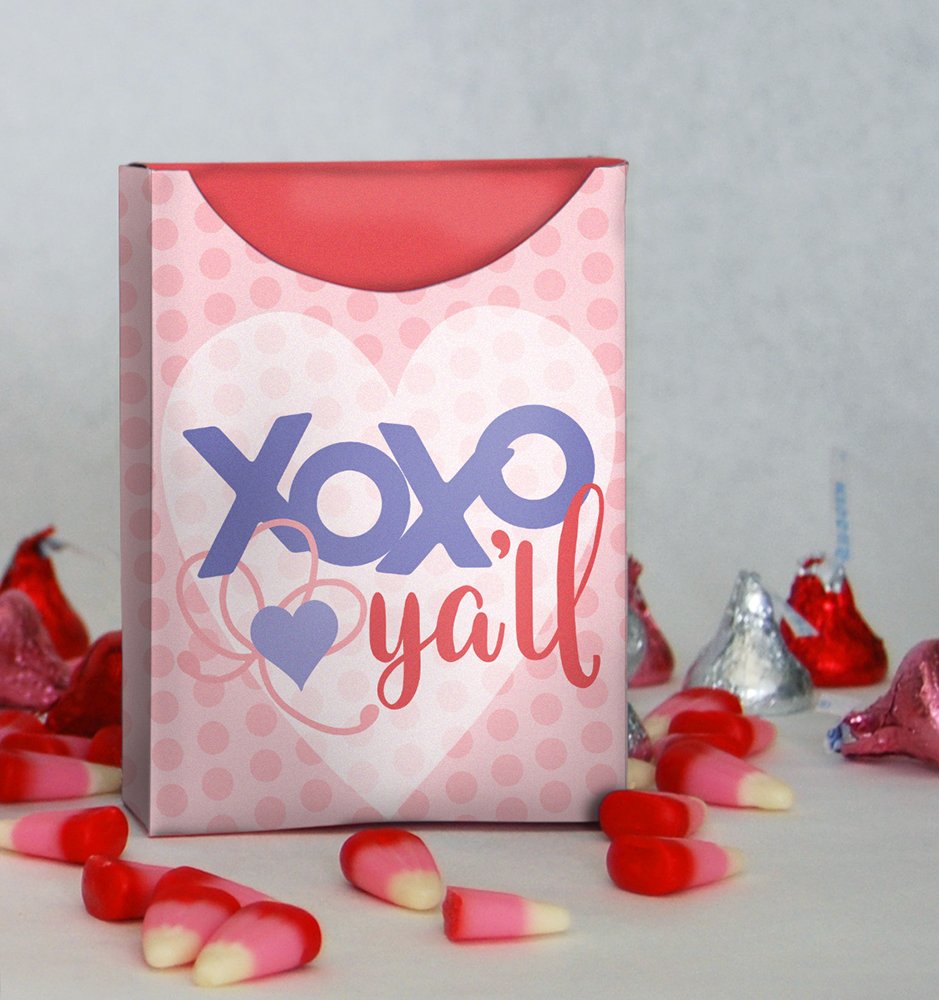 DIY Valentine's Day Box and Non Candy Valentine's Day Ideas