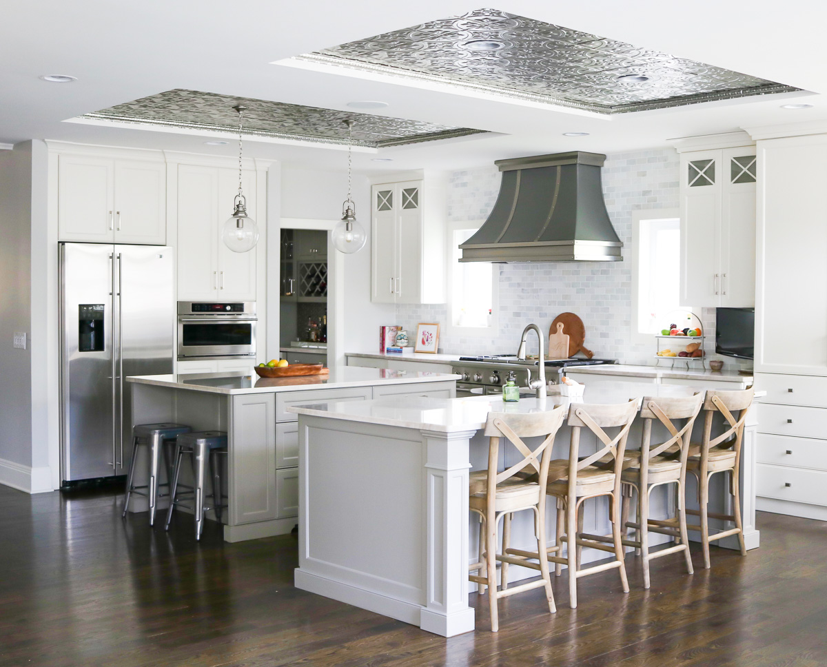 Tin Ceiling Tiles Are A Simple Way To Make A Big Impact And Affordable Way  To