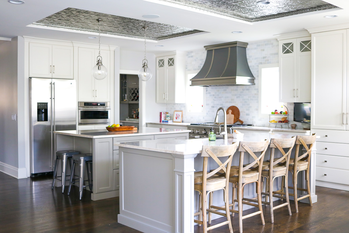 Kitchen Trend: Tin Ceiling Tiles