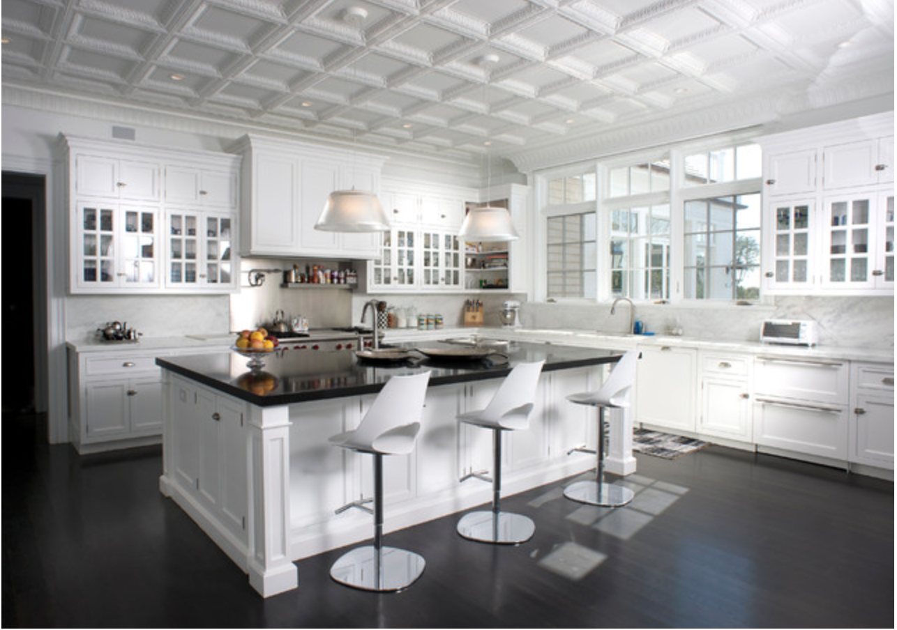 Tin Ceiling Tiles are a simple way to make a big impact and affordable way to transform any home and kitchen.
