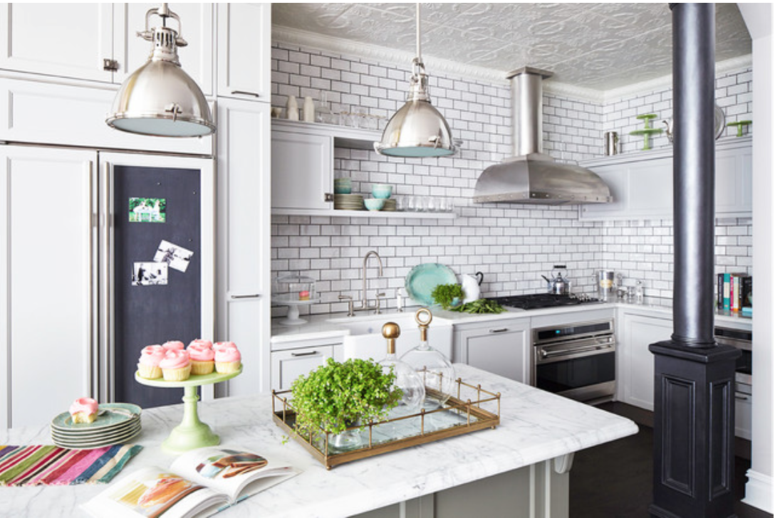 Kitchen trend tin ceiling tiles so chic life tin ceiling tiles are a simple way to make a big impact and affordable way to dailygadgetfo Image collections