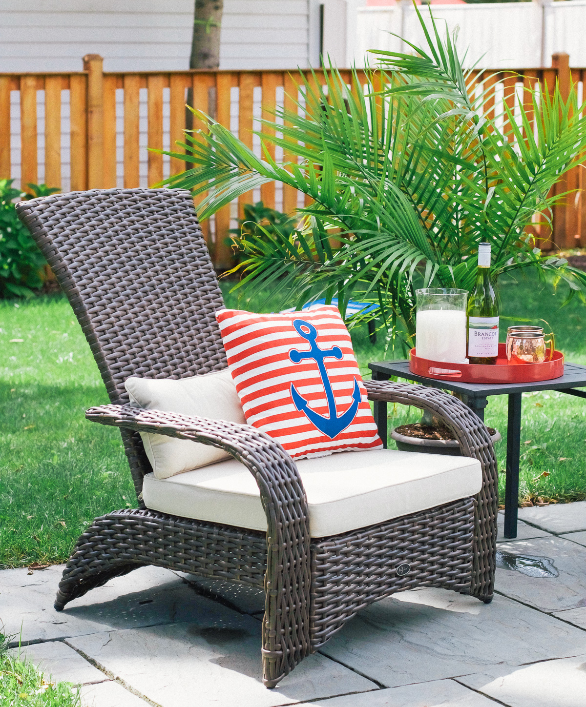 Ping The Kmart Patio Furniture Selection Online Was Quick And Included Free Shipping Don