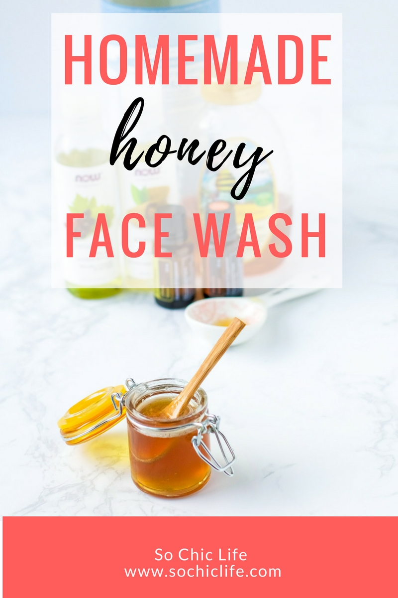 Homemade honey face wash combines antibacterial, anti-inflammatory and natural moisturizing power of honey with essential and nourishing oils.
