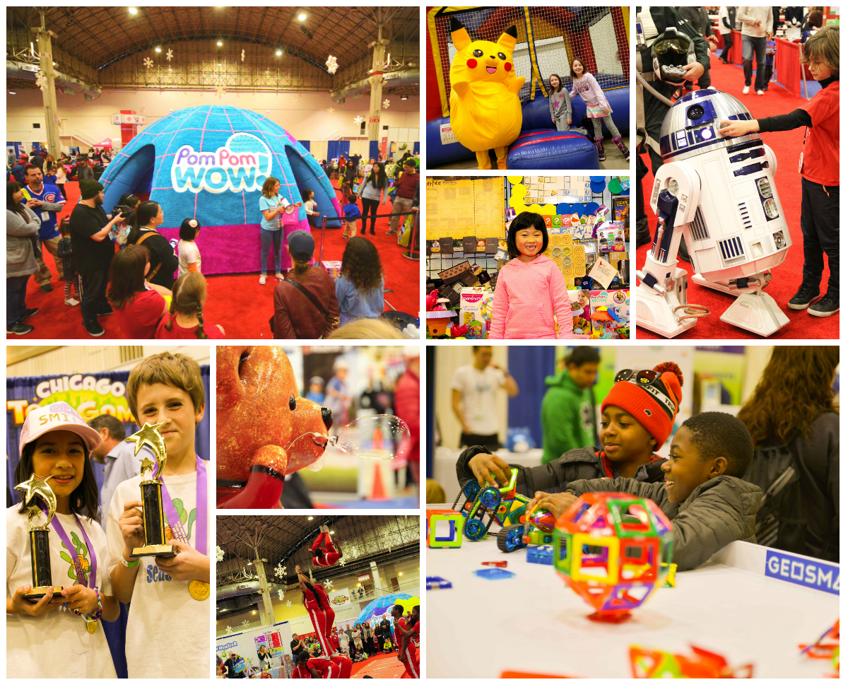 Let's Play! Chicago Toy & Game Fair returns to Navy Pier November 18th and 19th. No other events gives access to the hottest toys and games of the season.