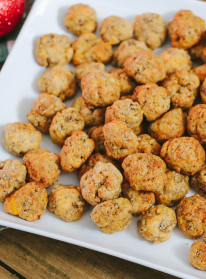 My Favorite Holiday Appetizer: Sausage Balls