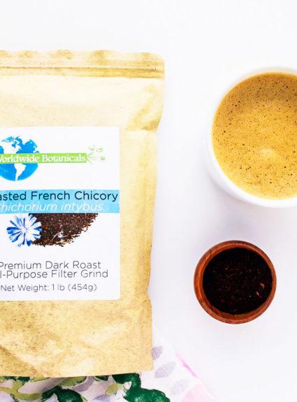 Chicory Root Latte: Caffeine Free + Keto