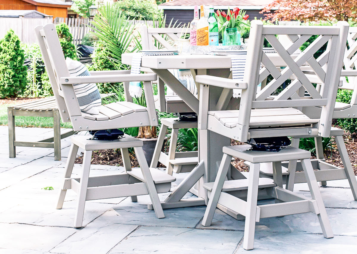 Maintenance Free Outdoor Furniture So Chic Life