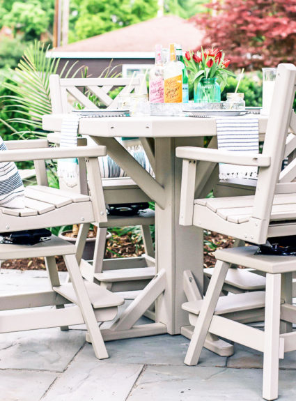 By the Yard Reveal: Maintenance Free Outdoor Furniture